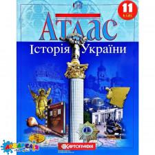Атлас.Історія України 11кл.К