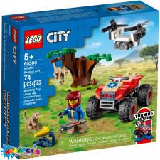 """Конструктор LEGO City """"Квадроцикл для порятунку диких тварин"""" арт.60300"""