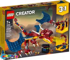 "Конструктор LEGO Creator ""Вогняний дракон"" арт.31102"