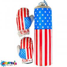 "Боксерський набір ""Америка"" малий арт.S-USA"