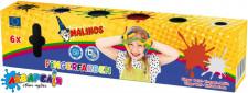 Пальчикові фарби Malinos Fingerfarben (6 кольорів)