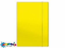 Папка для картона на гумці PENMATE А4 глянцева жовта