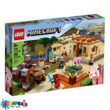 LEGO Minecraft Конструктор Напад шкідників 21160