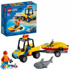 """Конструктор LEGO City """"Всюдихід пляжних рятувальників"""" арт.60286"""