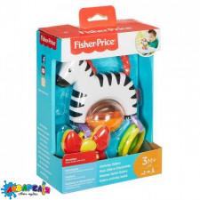 """Fisher-Price Іграшка-підвіска """"Зебра"""" арт.FGJ11"""