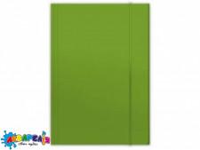 Папка для картона на гумці PENMATE А4 глянцева зелена
