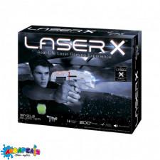 LASER X 88011 Ігровий набір для лазерних боїв -  ДЛЯ ОДНОГО ГРАВЦЯ (бластер, мішень)
