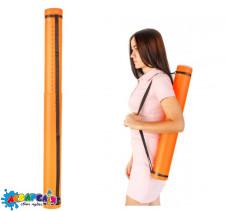 """Тубус """"Santi"""" розсувний діаметр 8.5 см довжина 65-110 см колір помаранчевий"""