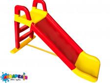 Гірка велика для катання (червоно-жовта)140 см. арт.0140/02