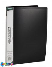 Папка-швидкозшивач  А4 450 мкн PP чорн. 4-212 4OFFICE Ec.L