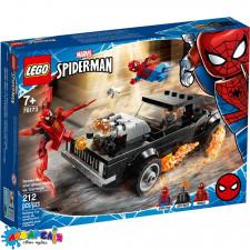 "Конструктор LEGO Super Heroes ""Людина-Павук і Примарний Вершник проти Карнажа"" арт.76173"